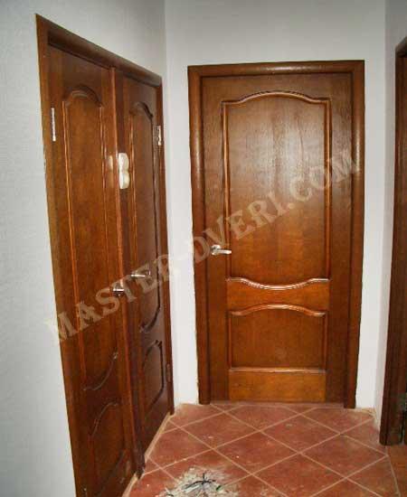 Двери в ванную и туалет 55x190 двери